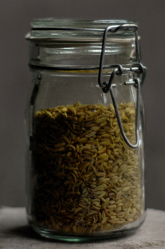 Seeds in the jar